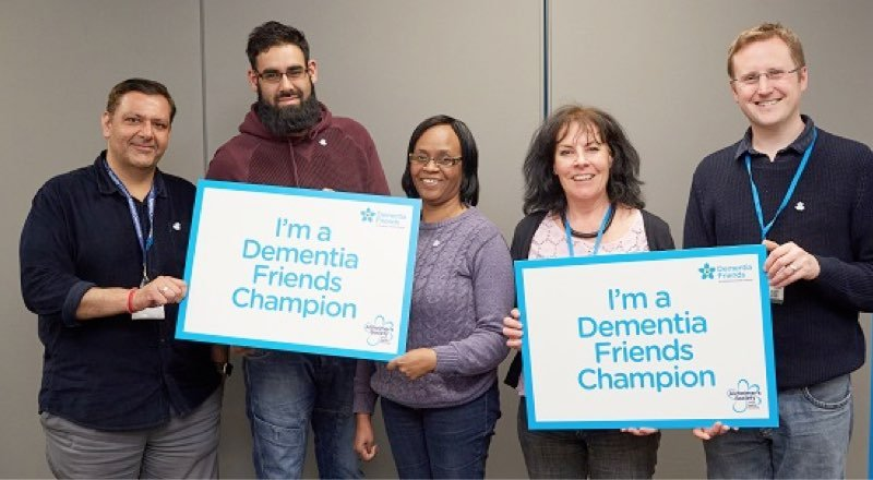 Dementia champion