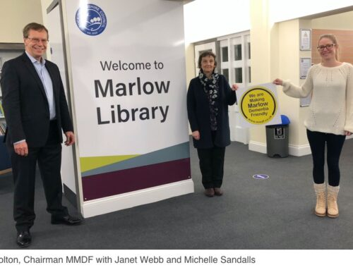 MMDF supporting Marlow Library