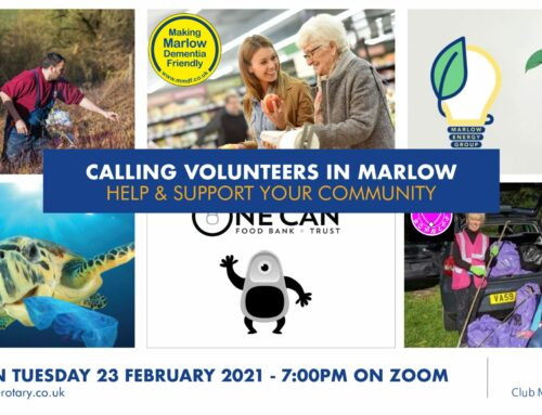 Calling all volunteers in Marlow
